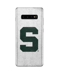 Michigan State University Spartans Mean Green S Galaxy S10 Plus Skin