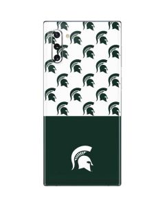 Michigan State University Spartans MSU Split Galaxy Note 10 Skin
