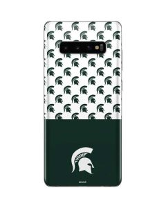 Michigan State University Spartans MSU Split Galaxy S10 Plus Skin