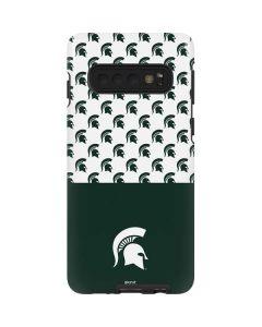 Michigan State University Spartans MSU Split Galaxy S10 Pro Case