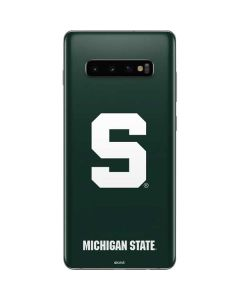Michigan State University Spartans S Galaxy S10 Plus Skin