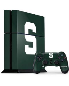 Michigan State University Spartans S PS4 Console and Controller Bundle Skin