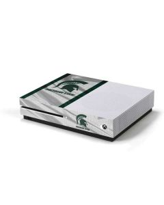 Michigan State University Spartans Jersey Xbox One S Console Skin