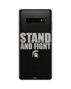Michigan State University Stand and Fight Galaxy S10 Plus Skin