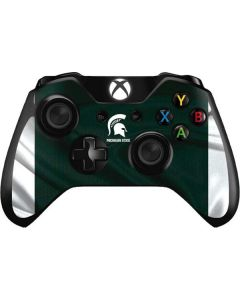 Michigan State University Away Grey Jersey Xbox One Controller Skin