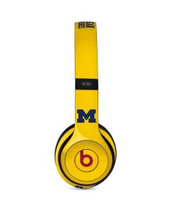 Michigan Wolverines Beats Solo 3 Wireless Skin