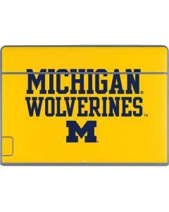 Michigan Wolverines Galaxy Book Keyboard Folio 12in Skin