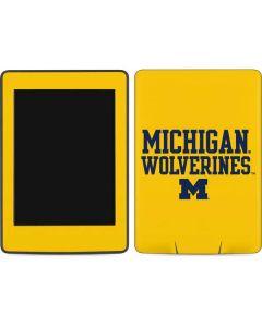 Michigan Wolverines Amazon Kindle Skin