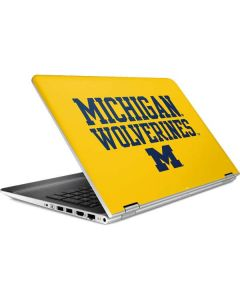 Michigan Wolverines HP Pavilion Skin