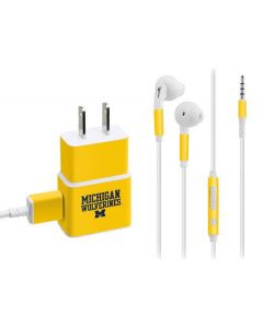 Michigan Wolverines Phone Charger Skin