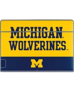Michigan Wolverines Split Galaxy Book Keyboard Folio 12in Skin