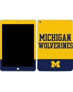 Michigan Wolverines Split Apple iPad Skin