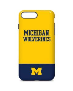Michigan Wolverines Split iPhone 7 Plus Pro Case