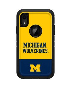 Michigan Wolverines Split Otterbox Defender iPhone Skin