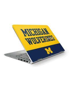 Michigan Wolverines Split HP Stream Skin