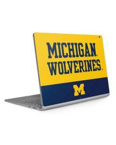 Michigan Wolverines Split Surface Book 2 13.5in Skin