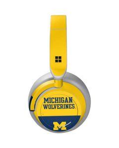 Michigan Wolverines Split Surface Headphones Skin