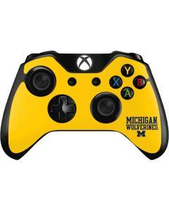 Michigan Wolverines Xbox One Controller Skin
