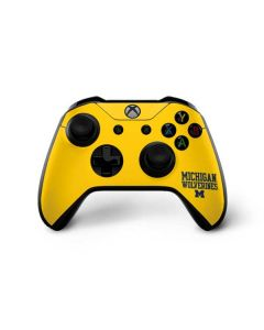 Michigan Wolverines Xbox One X Controller Skin