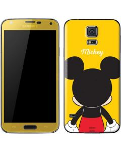 Mickey Mouse Backwards Galaxy S5 Skin