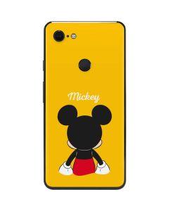 Mickey Mouse Backwards Google Pixel 3 XL Skin