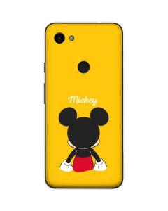 Mickey Mouse Backwards Google Pixel 3a Skin