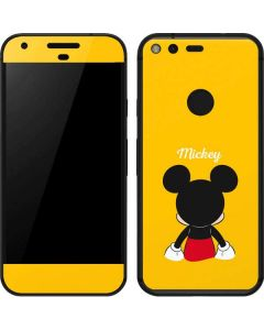 Mickey Mouse Backwards Google Pixel Skin