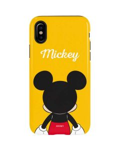Mickey Mouse Backwards iPhone XS Max Pro Case