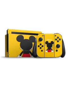 Mickey Mouse Backwards Nintendo Switch Bundle Skin