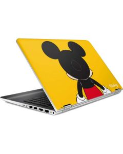 Mickey Mouse Backwards HP Pavilion Skin