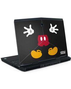 Mickey Mouse Body Dell Alienware Skin