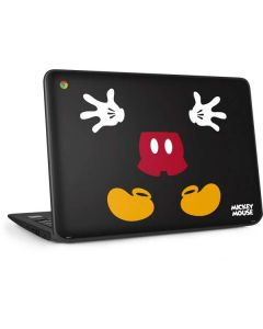 Mickey Mouse Body HP Chromebook Skin