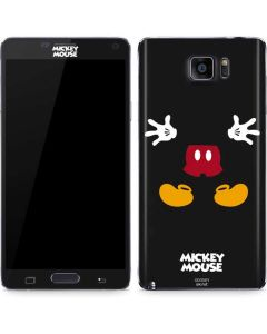 Mickey Mouse Body Galaxy Note5 Skin