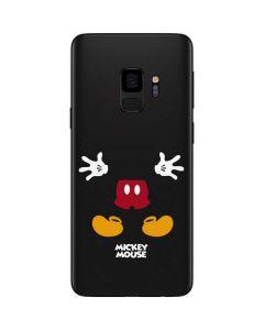 Mickey Mouse Body Galaxy S9 Skin