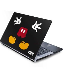 Mickey Mouse Body Generic Laptop Skin