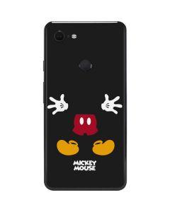 Mickey Mouse Body Google Pixel 3 XL Skin