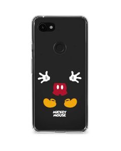 Mickey Mouse Body Google Pixel 3a Clear Case