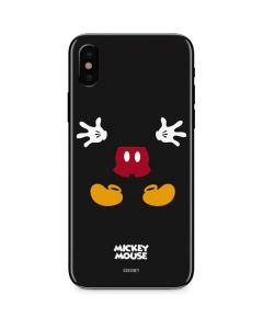 Mickey Mouse Body iPhone X Skin