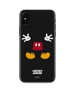 Mickey Mouse Body iPhone XS Skin
