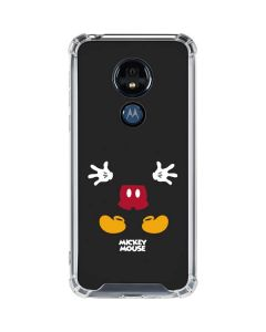 Mickey Mouse Body Moto G7 Power Clear Case