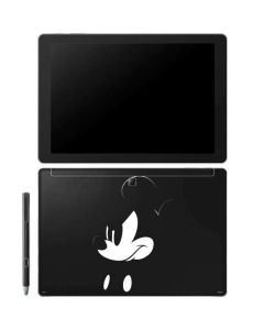 Mickey Mouse Jet Black Galaxy Book 10.6in Skin