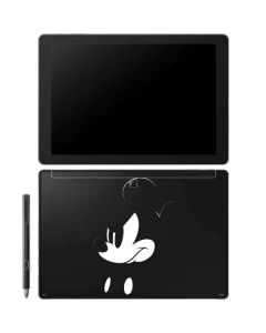 Mickey Mouse Jet Black Galaxy Book 12in Skin
