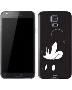 Mickey Mouse Jet Black Galaxy S5 Skin