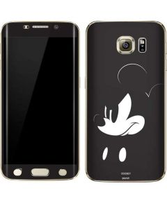 Mickey Mouse Jet Black Galaxy S6 edge+ Skin