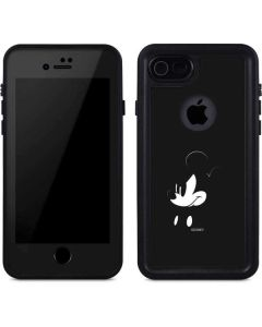 Mickey Mouse Jet Black iPhone 7 Waterproof Case