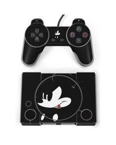 Mickey Mouse Jet Black PlayStation Classic Bundle Skin