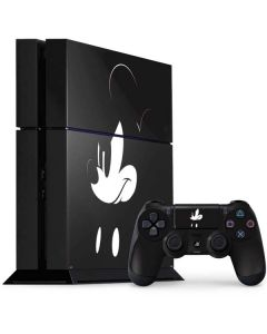 Mickey Mouse Jet Black PS4 Console and Controller Bundle Skin