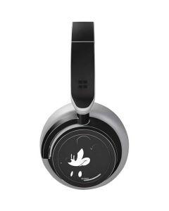 Mickey Mouse Jet Black Surface Headphones Skin