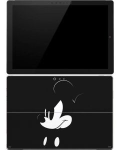 Mickey Mouse Jet Black Surface Pro 4 Skin
