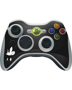 Mickey Mouse Jet Black Xbox 360 Wireless Controller Skin